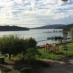 Veduta dalla terrazza del Sundy's Studios