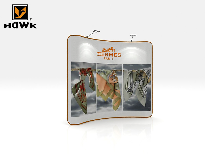 Fabric Exhibition Stand Jobs : Hawk exhibition booth magic angel series d stand