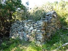 Une des anciennes bergeries de Mela
