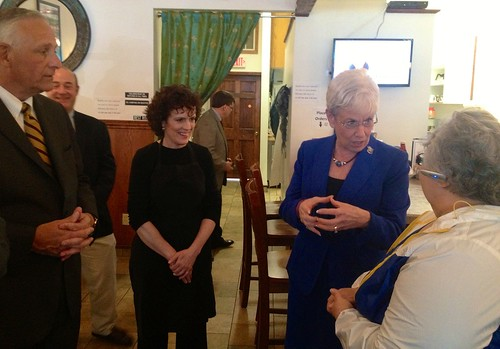 Lt. Gov. Nancy Wyman visits downtown businesses | by Mayor Neil M. O'Leary