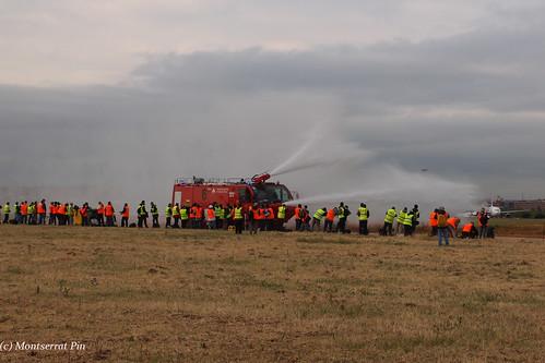 saludo de los bomberos