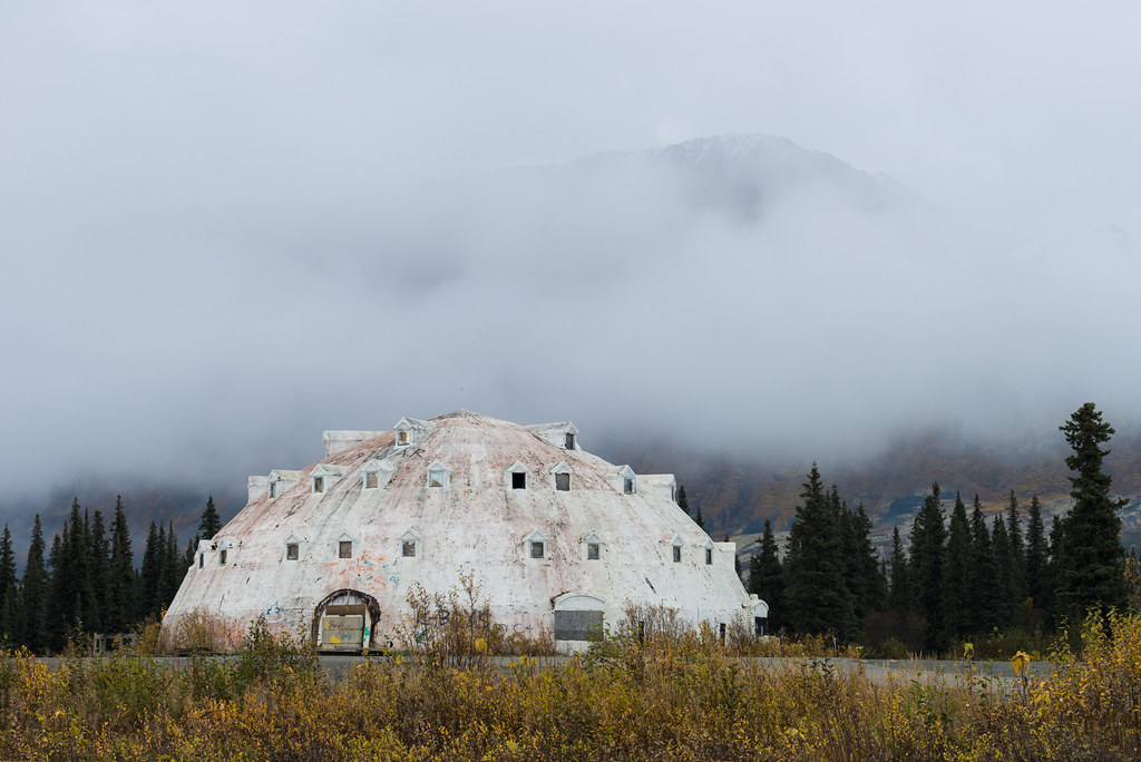 By Matt Wicks The Defunct And Abandoned Igloo Hotel On The Alaska Parks  Highway. | By Matt Wicks