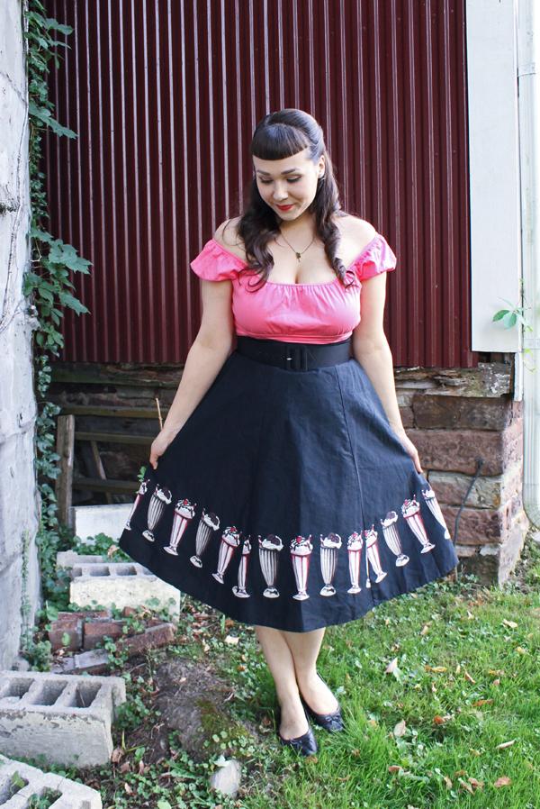 milkshake skirt
