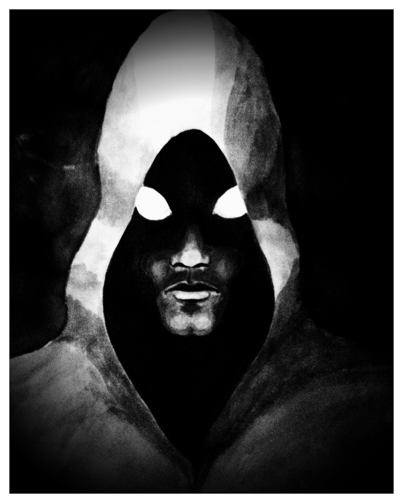 In the night.. | Illustration, hooded man, dark figure ...