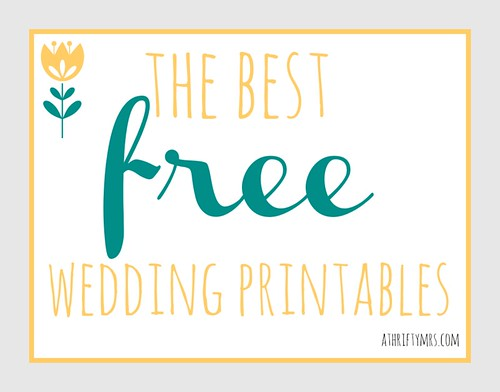 Free Printable Wedding Cake
