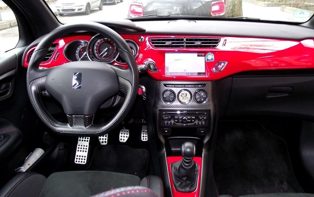 citroen ds3 racing thp 200 s loeb cockpit innenraum interi flickr. Black Bedroom Furniture Sets. Home Design Ideas