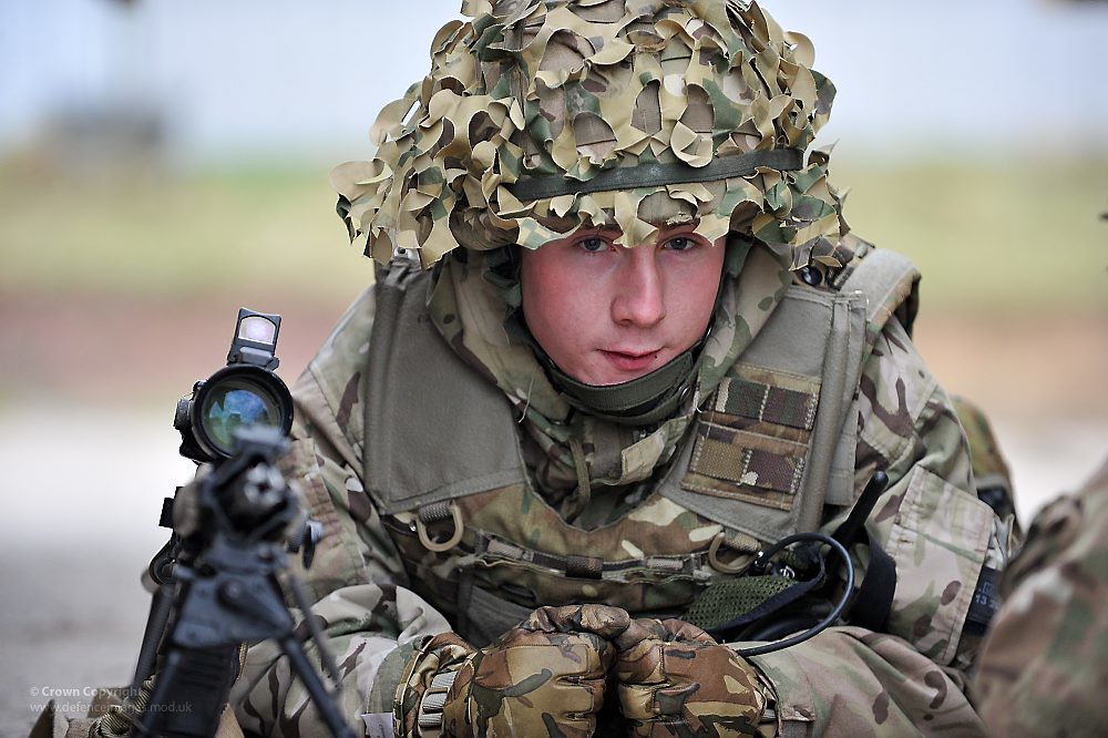 British Army Soldier A Soldier From Egypt Squadron 2