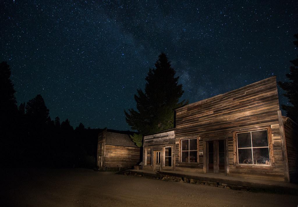 garnet ghost town montana USA