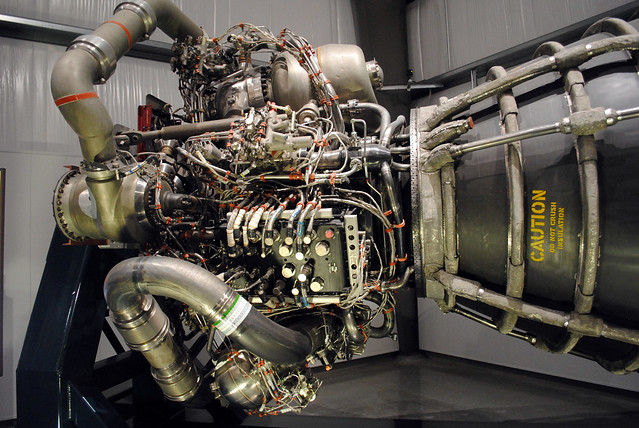 Space Shuttle Main Engine Internals | This is a shot of ...