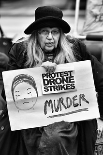 """Protest Drone Strikes: Murder"" 