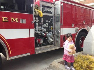 With Salem fire truck | by Henrietta H