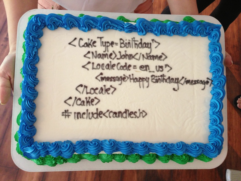 Geek Birthday Cake Alan Bailward Flickr