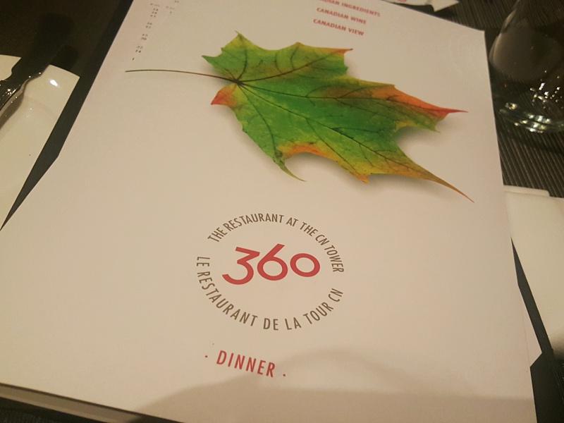 360 Restaurant Toronto