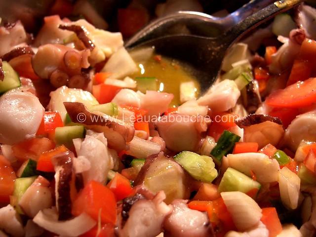 Salade de Poulpe Ensaladilla de Pulpo © Ana Luthi Tous droits réservés 007