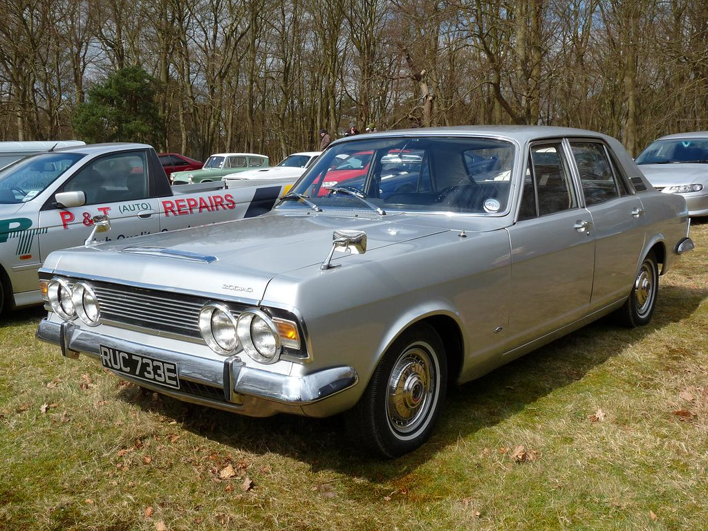 Ford Zodiac Mk4 1967 | At Surrey Street Rodders Wheels Day 2 ...