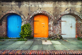 Colored Doors | by kirberich