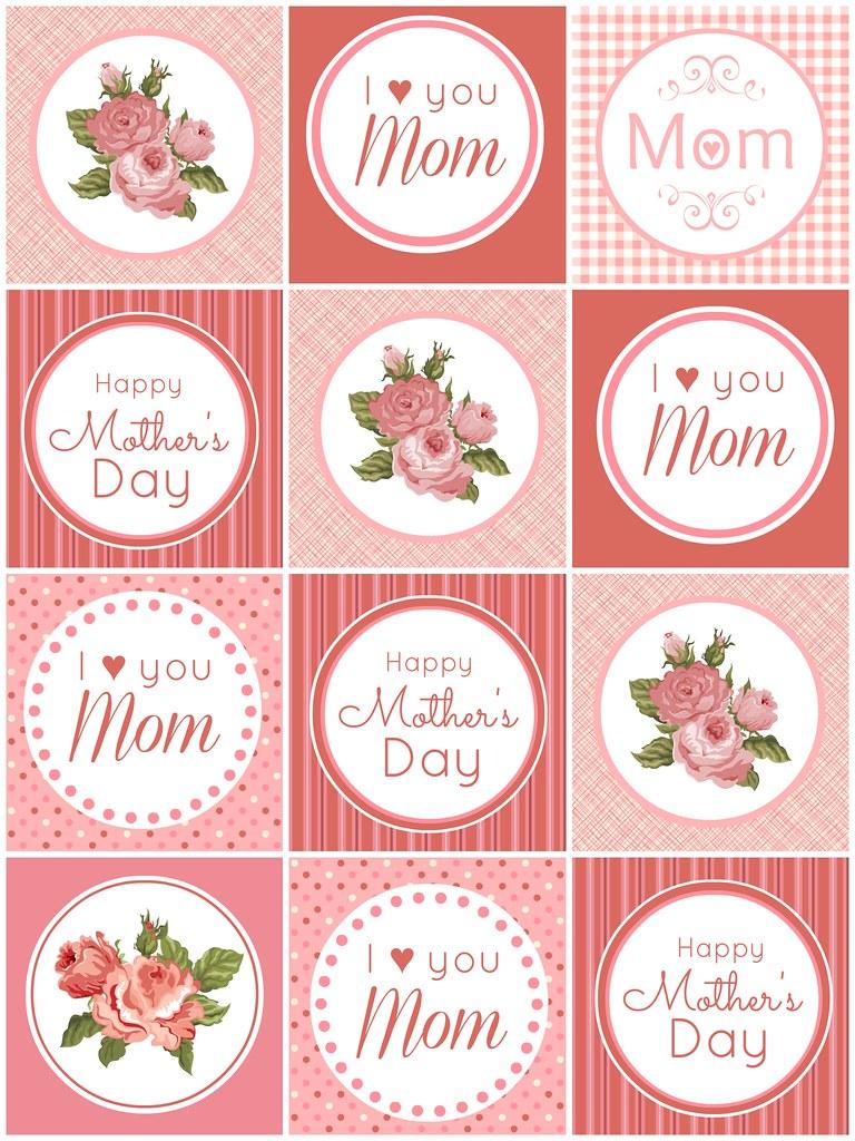 mother 39 s day cupcake toppers flickr. Black Bedroom Furniture Sets. Home Design Ideas