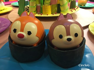 CIRCLEG 九龍塘 又一城 DISNEY TSUM TSUM 壽司 「Disney Tsum Tsum Walk N Roll Festival (9)