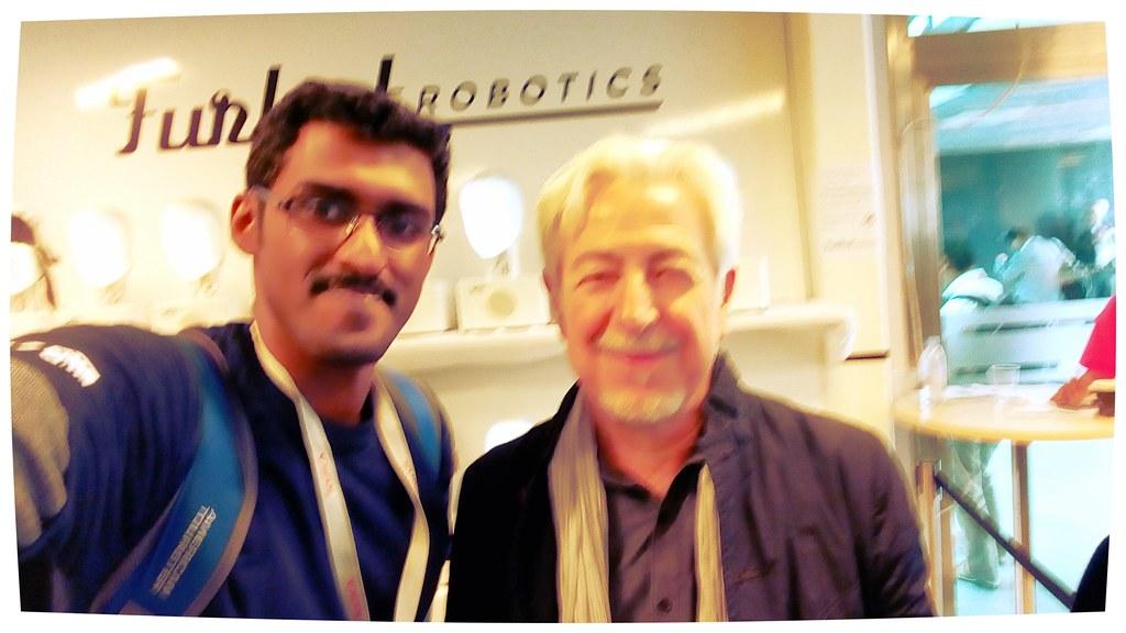 Me with Prof. Oussama Khathib