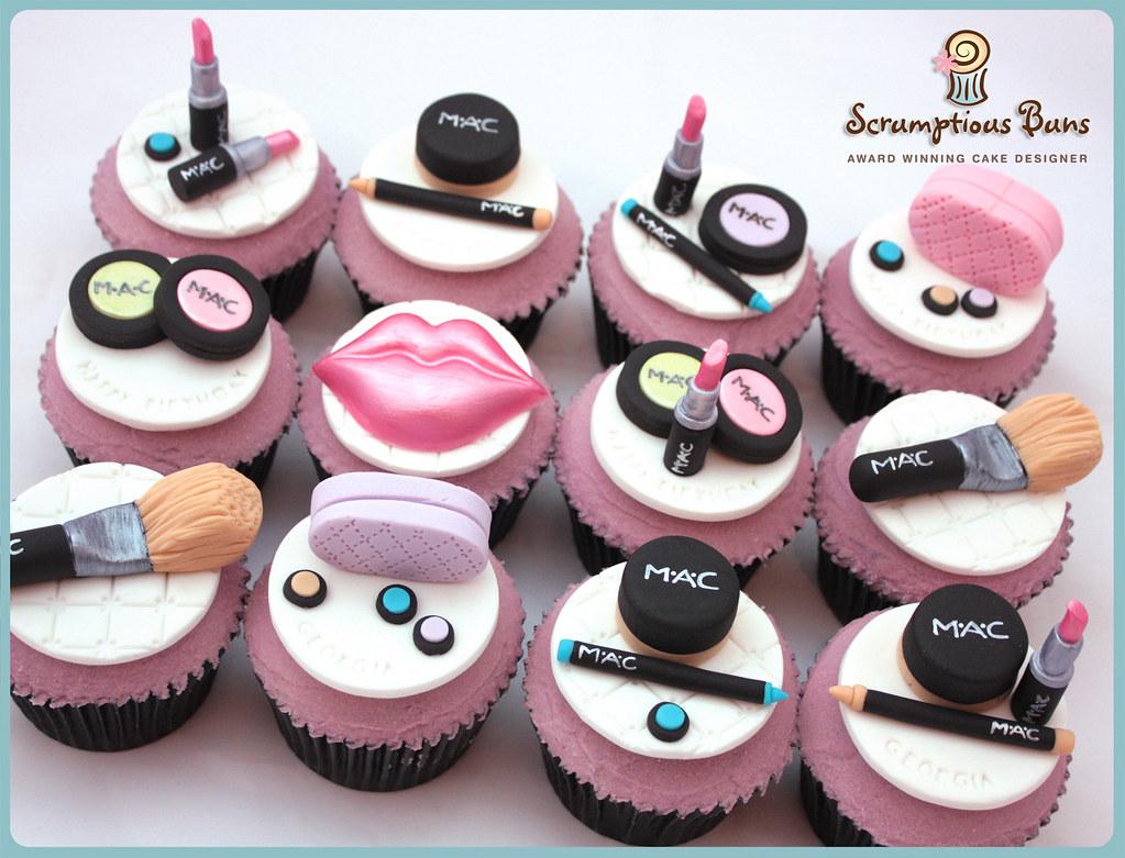 Beauty Salon Cake Decorations