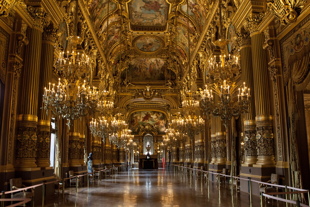 Grand Foyer In English : Le grand foyer de l opéra garnier paris