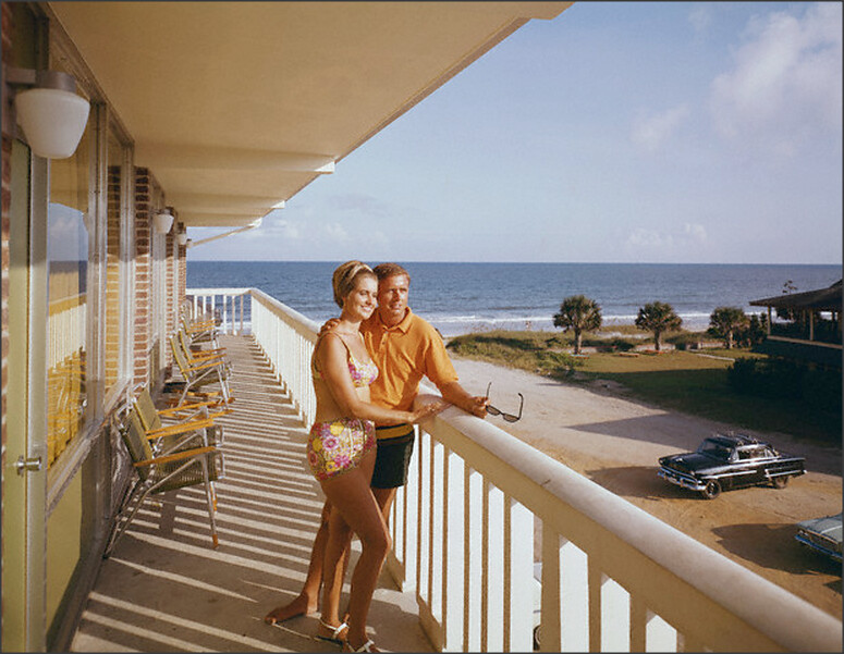 Vacationers At Murphy S Myrtle Beach Resort Sc 1960s Flickr