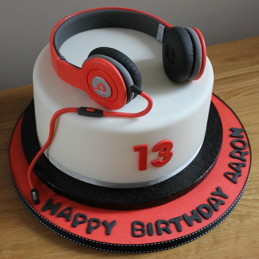 Headphones Ideas For Cake