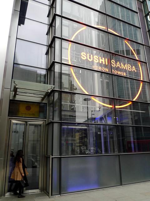 Sushi Samba Restaurant Menu