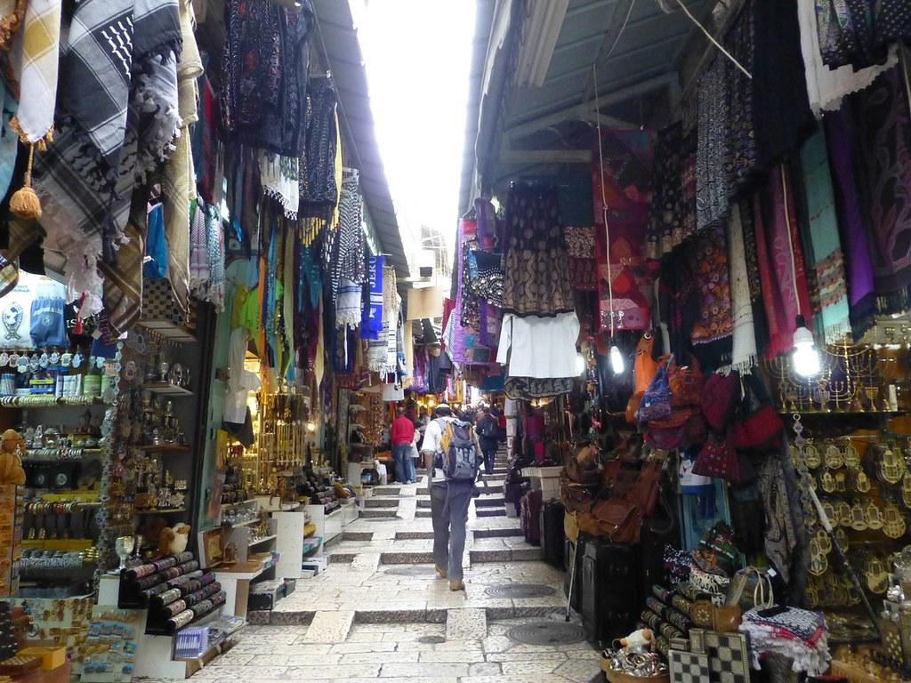 Christian quarter (Jerusalem, Israël 2013)