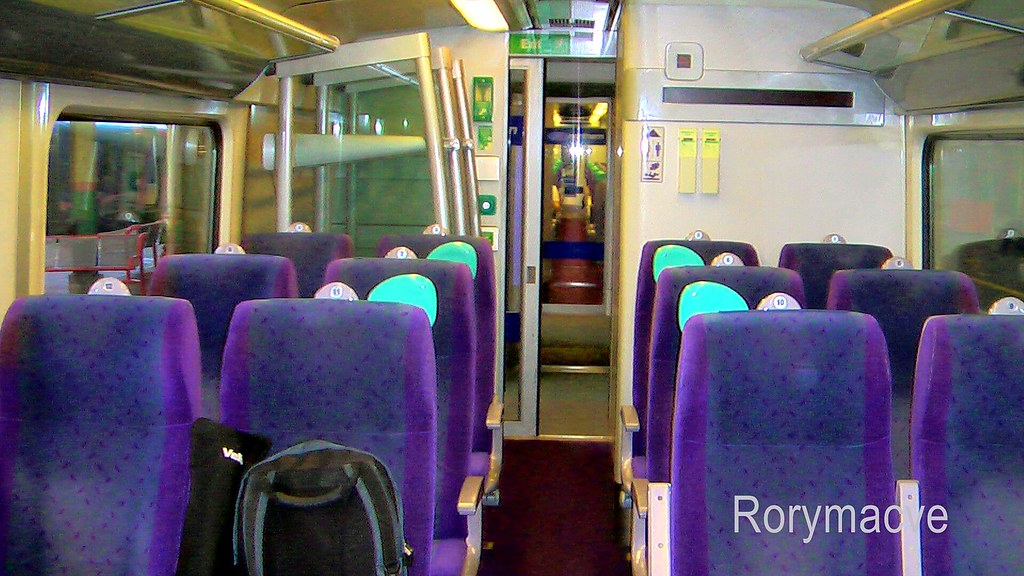 Interior: Northern Rail Class 180 (Standard) | A typical ...