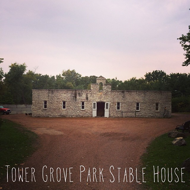 Tower grove park stable house east of the stone shelter for Grove park house