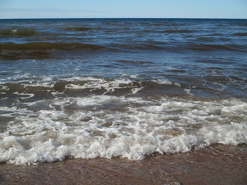 Foam #pei #peinationalpark #cavendish #cavendishbeach #latergram #waves #gulfofstlawrence