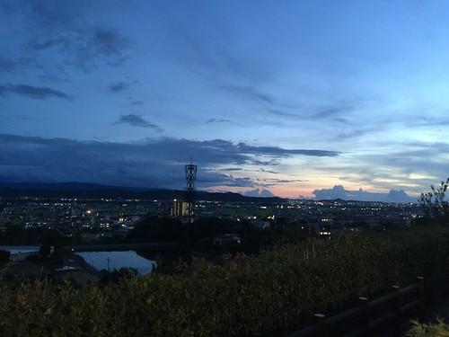 紀ノ川SA(下り)からの眺望