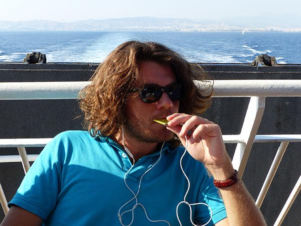 musique sur la bateau
