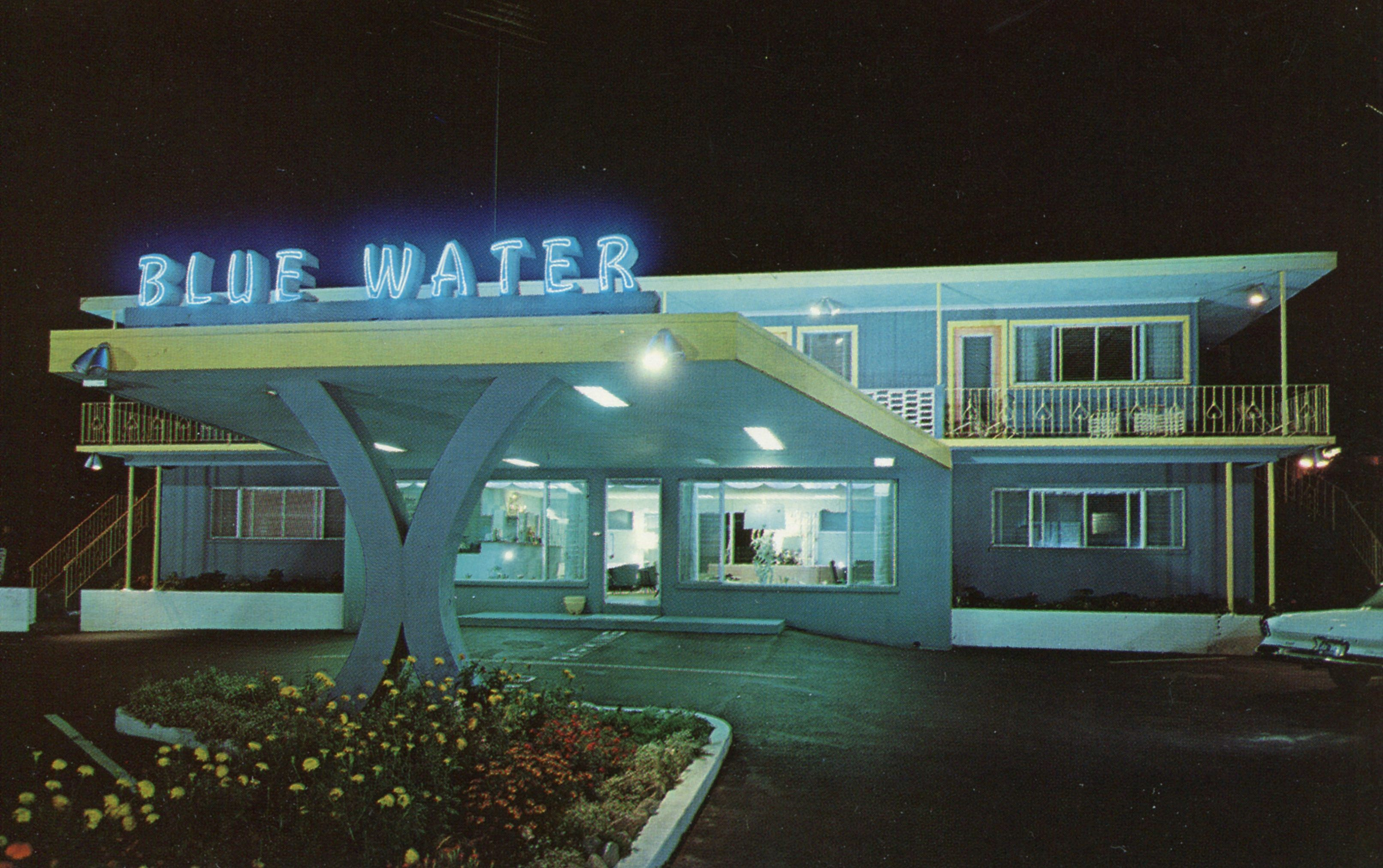 Blue Water Resort - 291 South Shore Drive, South Yarmouth, Massachusetts U.S.A. - 1960s