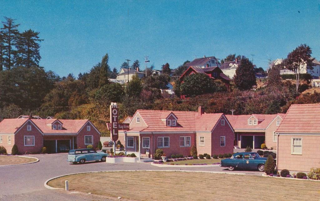 Bay-View Motel - Astoria, Oregon