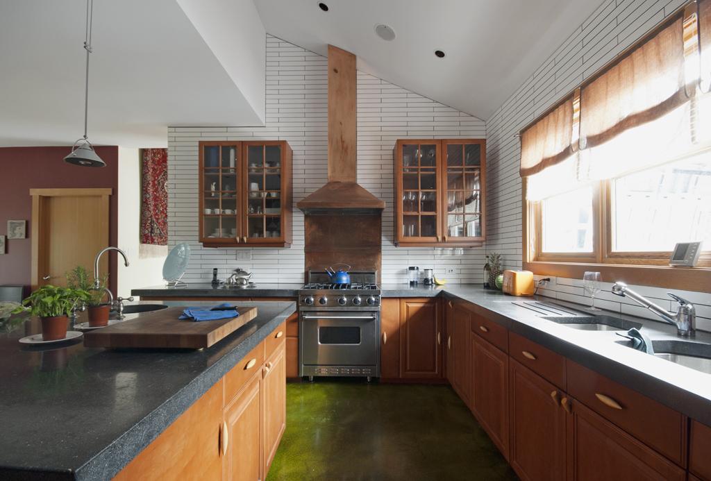 Modern kitchen interior of contemporary west coast style h Flickr
