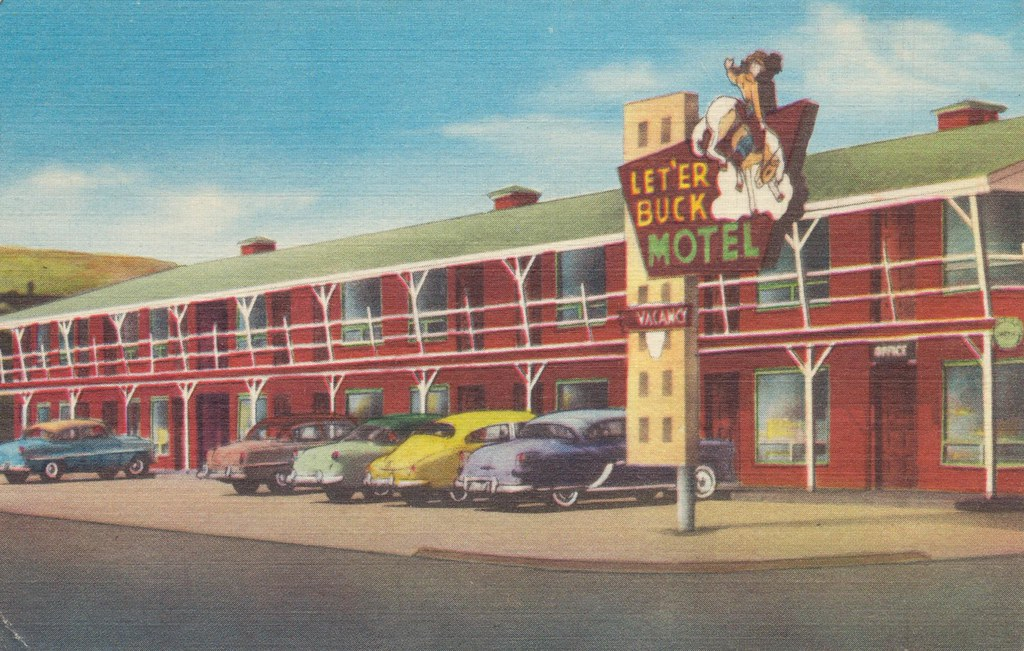 Let 'Er Buck Motel - Pendleton, Oregon