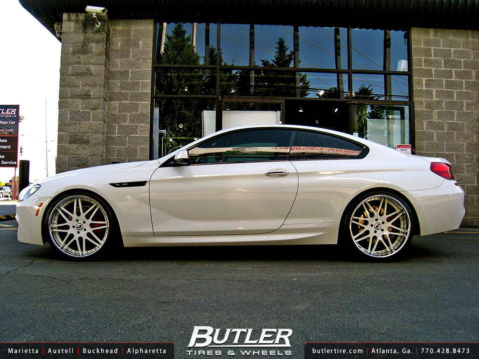 BMW 650i With 22in Forgiato Pinzette Wheels Additional