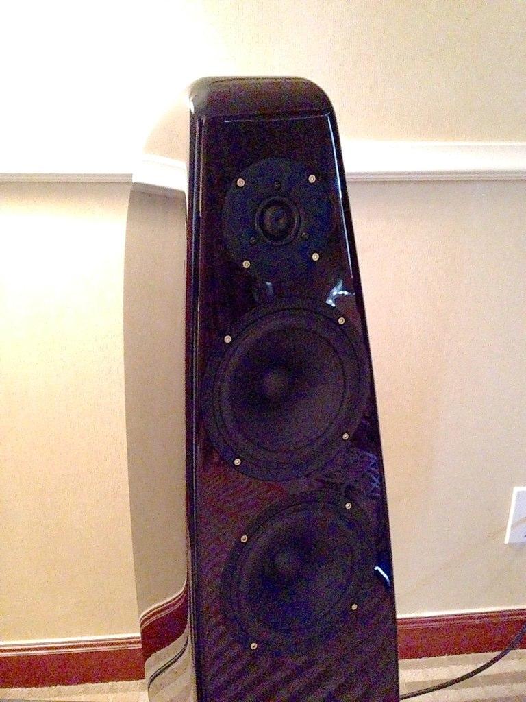 my audio design mad baron speaker taken in room 1 of col