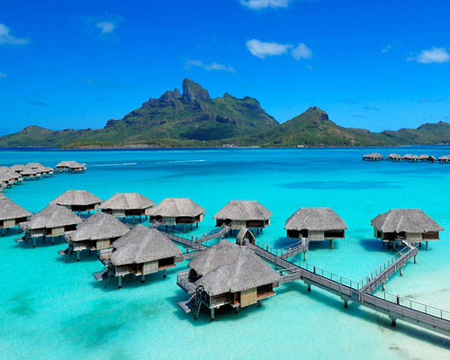 Four Seasons Resort Bora Bora, French Polynesia | by drollgirl