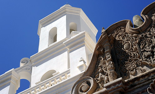 Front of San Xavier del Bac Church