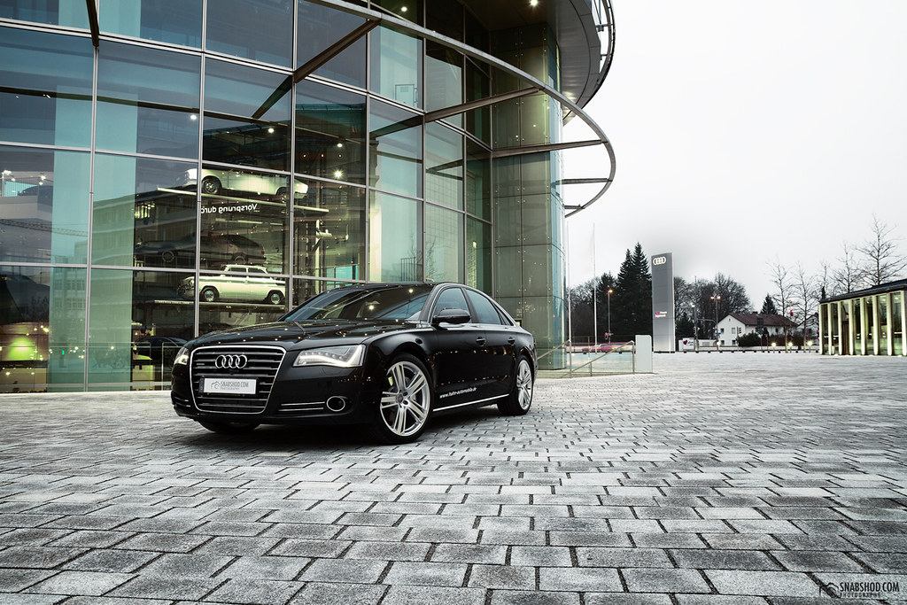 audi a8 at audi forum ingolstadt audi a8 at audi forum ing flickr. Black Bedroom Furniture Sets. Home Design Ideas