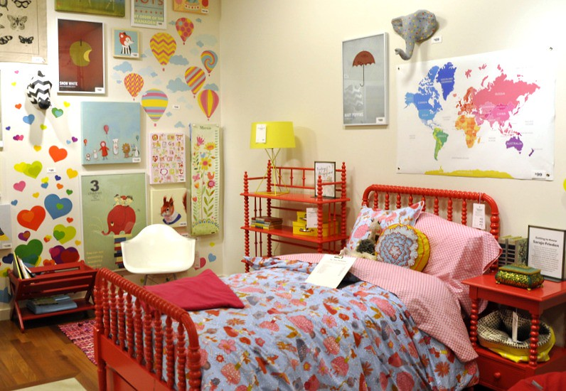 ... AngryJulieMonday Raspberry Jenny Lind Furniture At Land Of Nod | By  AngryJulieMonday