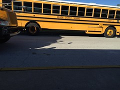 Volusia County School Buses | The bus in the other lane is 2… | Flickr