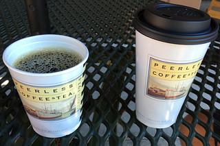 Peerless Coffee - Cups