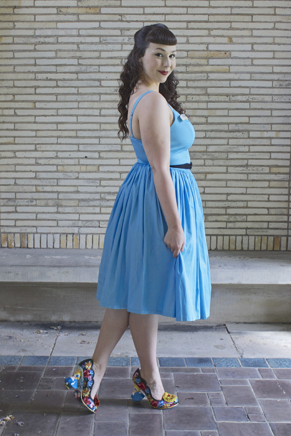 Blue Jenny Pinup Couture