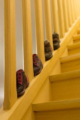 Comment ranger les chaussures de b b how to store baby s - Comment ranger les chaussures ...