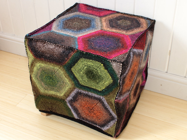 2011: Foot stool cover prototype