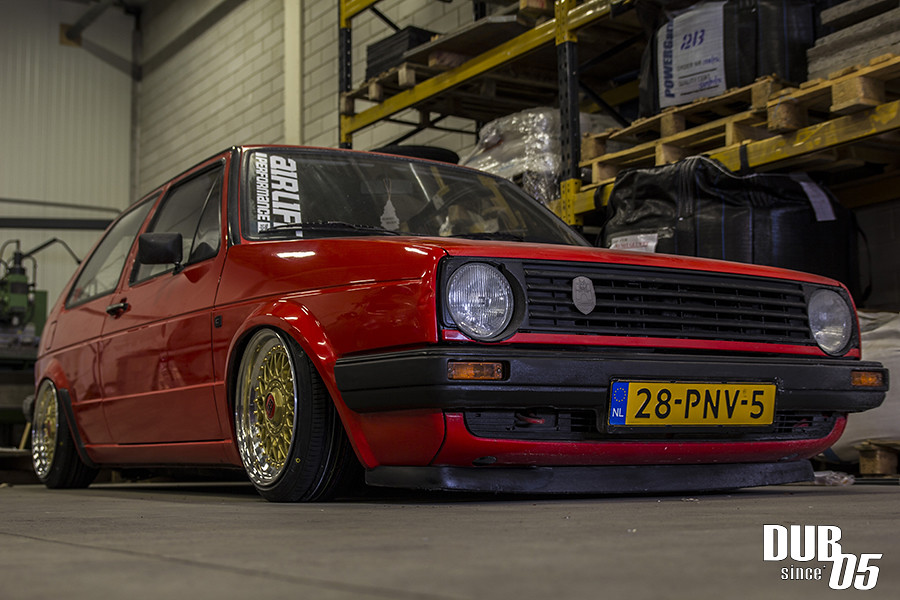 airride golf 2 front off the mk2 on airlift performance. Black Bedroom Furniture Sets. Home Design Ideas